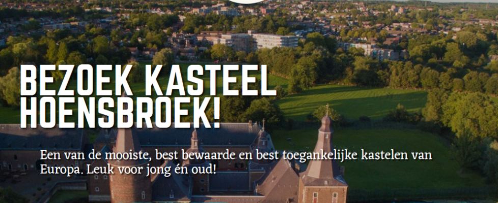 Nieuwe website Kasteel Hoensbroek