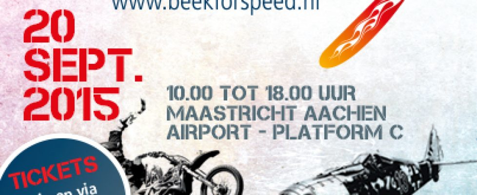 Online ticketshop Beek for Speed