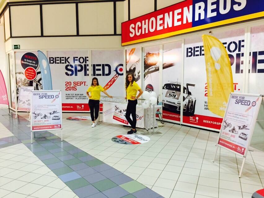Popup store Beek for Speed geopend