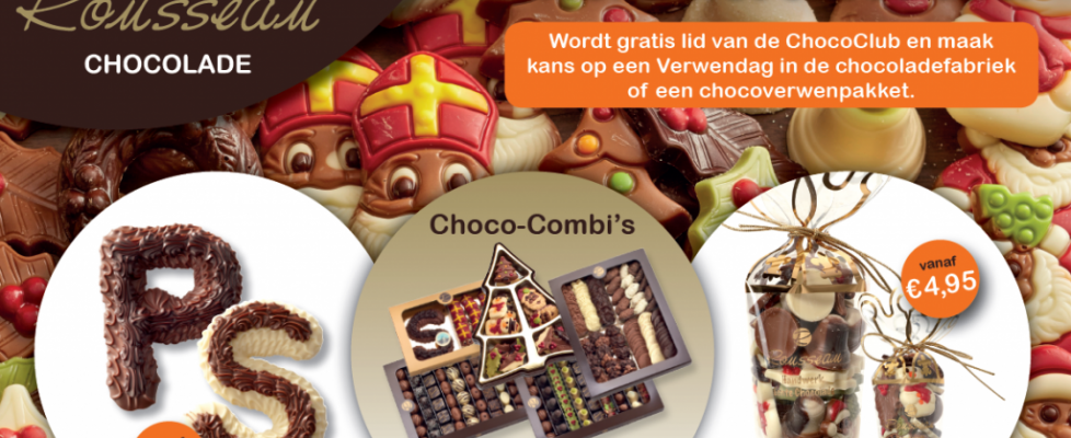 Decembercampagne Rousseau Chocolade