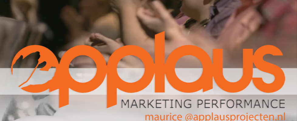 Uw eigen marketing regisseur met marketing performance